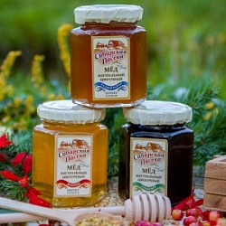 "Collection of natural honey ""Siberian Apiary"""