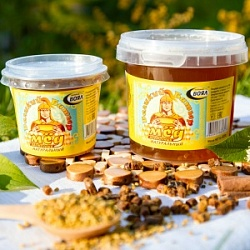 "Collection of natural honey ""Great Batyr"""