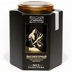 """Premium Honey of Siberia"" High mountain 350 gr"