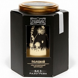 """Premium Honey of Siberia"" Field 350 gr"