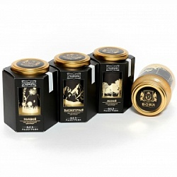 "Collection of natural honey ""Premium Honey of Siberia"""
