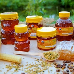 "Collection of natural honey ""Fancy"""